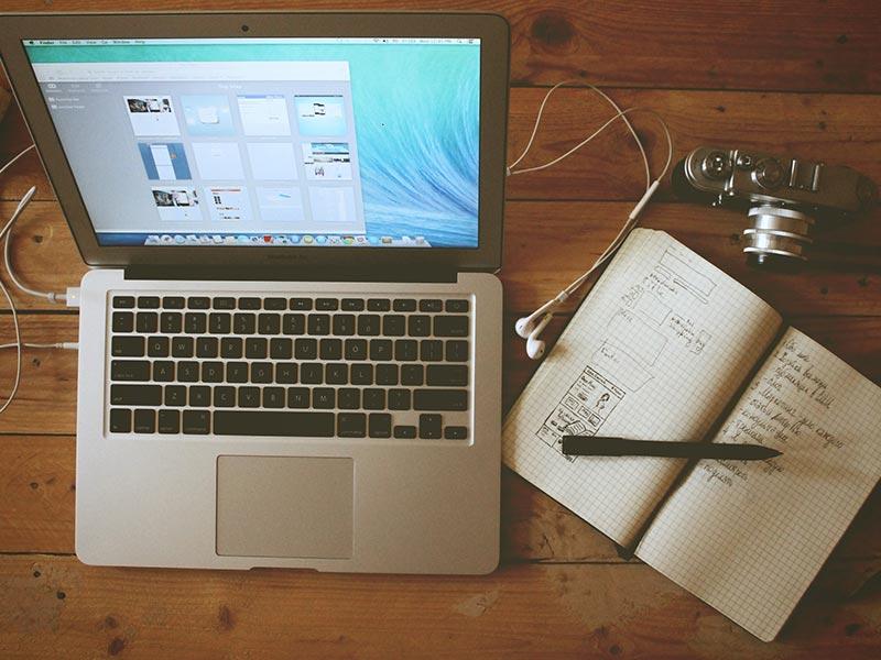 A comfortable desk